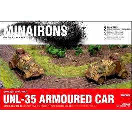 MIN-GEV007 UNL-35 Armoured Car - Spanish Civil War -