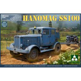 TAK-2068 German Tractor Hanomag SS100 WWII