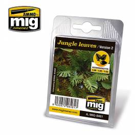 AMIG-8461 Jungle leaves (Version 2)