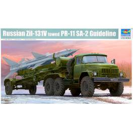 TRU-01033 Russian ZIL-131V towed PR-11 SA-2 Guideline