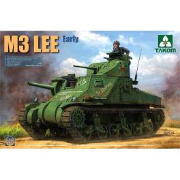 TAK-2085 Carro medio USA M3 Lee inicial