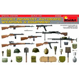 MNA-35268 Soviet Infantry Automatic Weapons & Equipment