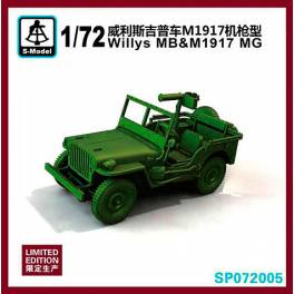 SMOD-SP072005 Jeep Willys MB con ametralladora M 1917