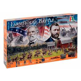 ITA-6179 Farmhouse Battle. Guerra Civil Americana 1864