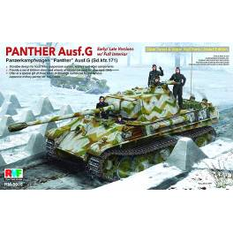 RFM-5016 Panther Ausf. G con interior completo