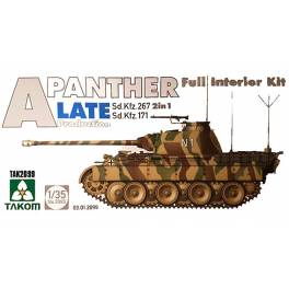 TAK-2099 Panther Ausf. A final con interior completo