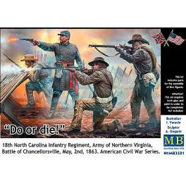 "MB-3581 ""Do or die"" - Battle of Chancellorsville, 1863"