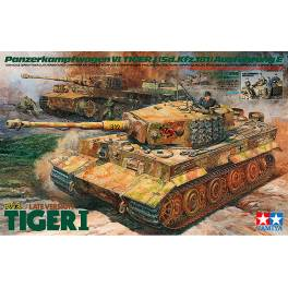 TMY-25401 German Tiger I Late Version w/4 figures