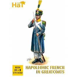 HAT-8234 Napoleonic French in Greatcoats
