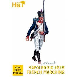 HAT-8294 Napoleonic 1815 French Marching