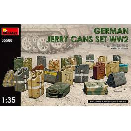 MNA-35588 German Jerry Cans Set WWII
