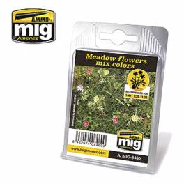 AMIG-8460 Meadow Flowers mis Colors