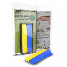 AK-8208 Greenpower 2 Component Modeling Putty