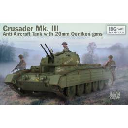 IBG-72070 British Tank Crusader Mk.III (Anti-aircraft)
