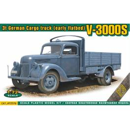 ACE-72576 V3000S 3ton. German cargo truck (early flatbed)