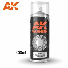 AK-1012 Semi-Gloss Varnish Spray 400ml