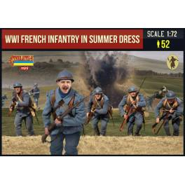 STR-M134 WWI French Infantry in Summer Dress