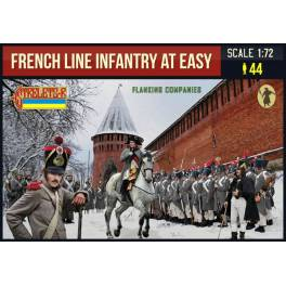 STR-225 French Line Infantry at Ease. Flanking Companies