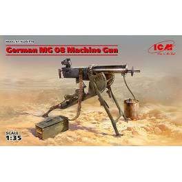 "ICM-35710 German WW1 MG 08 ""Spandau"" Machine Gun"