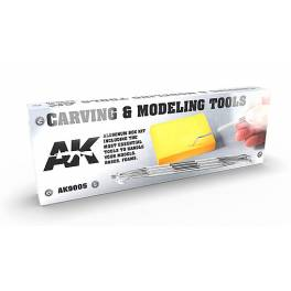 AK-9005 Carving Tools Deluxe Box