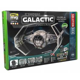 AMIG-7701 Solution Box Imperial Galactic Fighters