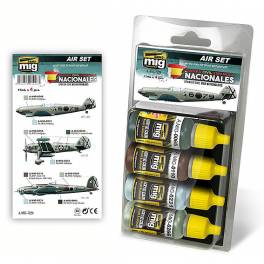 AMIG-7226 Spanish Civil War - Nationalist Aircraft Colors Set