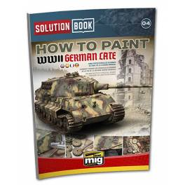 AMIG-6503 WWII German Late Tanks Solution Book
