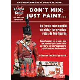 AND-ACS004 Red Paint Set