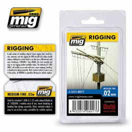 AMIG-8017 Rigging – Medium Fine 0.02mm.