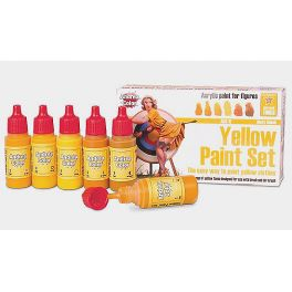 AND-ACS011 Yellow Paint Set