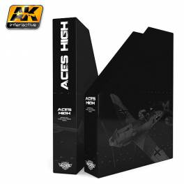AK-156  Aces High Magazine Rack (5 issues)