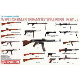 DRG-3809 WWII German Infantry Weapons (Part 1)