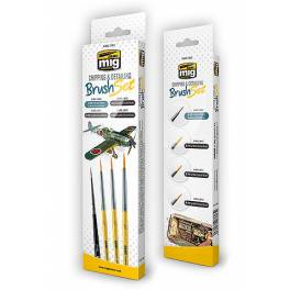 AMIG-7603 Chipping and Detailing Brush Set