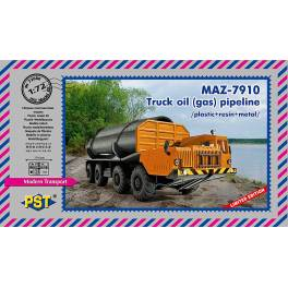 LOW COST! PST-72080 MAZ-7910 Truck Oil (gas) Pipeline
