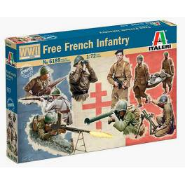ITA-6189 Free French Infantry WW2
