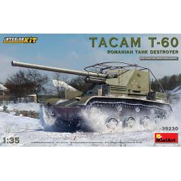 MNA-35230 TACAM T-60 Romanian tank destroyer. Full Interior Kit