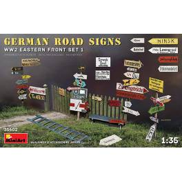 MNA-35602 German Road Sings WW2 Eastern Front Set