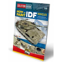 AMIG-6501 How to Paint IDF Vehicles (Multilingual)