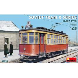 MNA-38020 Soviet Tram X-Series Early Type