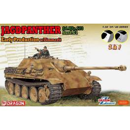 DRG-6758 Jagdpanther Ausf.G1 Early w/Zimmerit