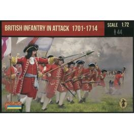 STR-231 British Infantry in Attack 1701-1714