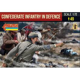STR-249 Confederate Infantry in defence