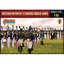 STR-217 Russian Infantry Standing Order Arms. Napoleonic Wars