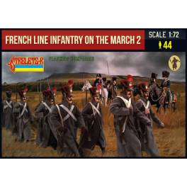 STR-220 French Line Infantry on the March 2. Napoleonic Wars