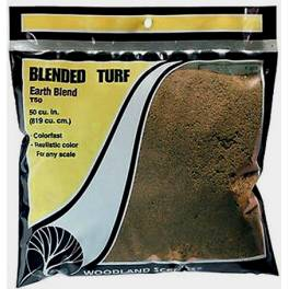 WS-T50 Blended Turf. Earth Blend