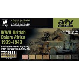AV-71622 WWII British Colors Africa 1939-1943