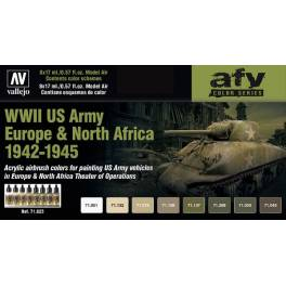 AV-71625 WWII US Army Europe & North Africa 1942-1945