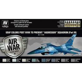 "AV-71618 USAF colors post WWII to present ""Aggressor"" Squadron Part 3"