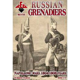 RED-72130 Russian Grenadiers - Napoleonic Wars 1804/1808