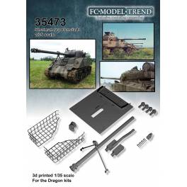 FCM-35473 Conversion Set for Overpowered Sherman